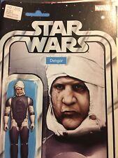 Star Wars #22 John Tyler Christopher Variant Dengar figure Marvel 1st printing