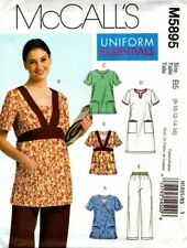 McCall's Patterns M5895 Size B5 8-10-12-14-16 Misses'/ Women's Tops, Dress and P