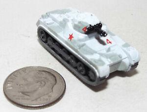Very Small Micro Machine Plastic German WWII type Panzer I Tank  Winter Camo