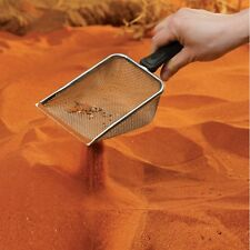 Terrarien Metallschaufel für Reptilienkot -Scoop, Sandsieb, Sieb, Kotschaufel