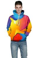 Graphic Unisex 3D Print Hoodie Mens Sweatshirt Pullover Hooded Womens Tops