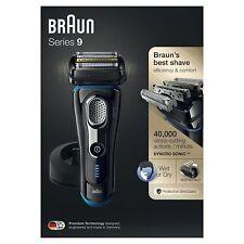 Braun Series 9 9240s Men's Cordless Wet & Dry Rechargeable Electric Foil Shaver