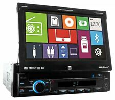 "Dual XDVD600 Single-Din 7"" In-Dash Flip Out Car DVD Receiver Monitor w/Bluetooth"