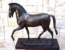 Very Stunning Large Vintage Etruscan Horse Bronze