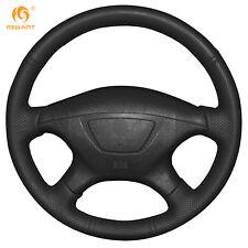 Soft Black Leather Steering Wheel Cover for Mitsubishi Pajero Montero Sport 2004