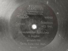 """78rpm E. BERLINER GRAMOPHONE 7"""" - SCHWARZWÄLDER SPIELUHREN - Garde Kürassier Reg"""