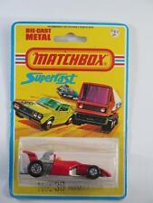 MATCHBOX SUPERFAST MB36-C7 Formula 5000 Racing Car MINT SEALED BLISTER USA 1978