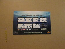 Ahl Lake Erie Monsters Circa 2007-2008 Magnet Schedule