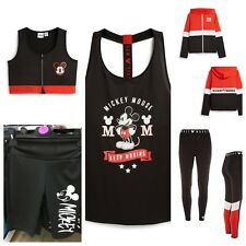 DISNEY MICKEY MOUSE Ladies GYM ACTIVE WEAR FITNESS Womens Primark VARIOUS SIZES