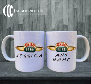 Central Perk Friends Mug - Personalised Name - Friends TV Show