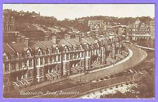 Gb Bournemouth Terrace Houses Undercliffe Road Postcard