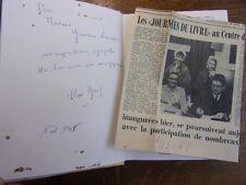 Envoi autographe / LE REPAIRE EN DEUIL Claire Graf