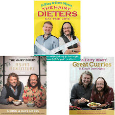 Hairy Bikers Great Curries,Asian Adventure,Hairy Dieters 3 Books Collection NEW
