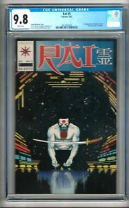 Rai #5 (1992) CGC 9.8  White Pages  Michelinie - St. Pierre - Bolinger - Reese