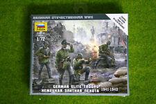 Zvezda alemán tropas de élite 1941-1943 Escala 1/72 6180