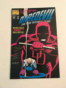 CR) 18x Daredevil Marvel DC Stryker Underground Autographed Signed Comic Lot