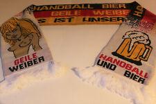 Handball Fan Schal Handball Bier und Geile Weiber Fan Schal Deutschland