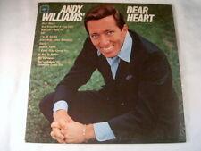 "ANDY WILLIAMS  "" DEAR HEART ""   LP ALBUM"