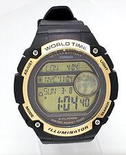CASIO SPORTS WATCH X-LARGE dial 3 Time zone AE3000W AE-3000W-9 ALARM Timer NEW