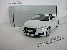 Audi TT Roadster, 1:18, Glaciar blanco, NUEVO SIN ABRIR