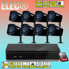 ELEC 1080N 8CH HDMI DVR 1MP Home Security CCTV Camera Surveillance System HD AU