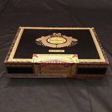 PARTAGAS BLACK LABEL GIGANTE CIGAR BOX BLACK AND GOLD GORGEOUS!