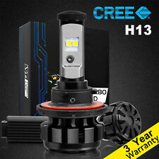 H13 9008 LED Headlight Bulbs For Ford F150 2004-2012 Hi/Lo Beam Light 80W 7200LM