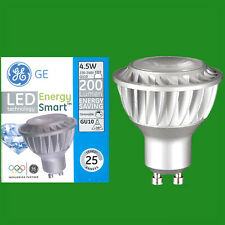 2x 4.5W (=35W) GE LED GU10 4000K Dimmable Reflector Spot Light Bulb Lamp