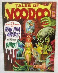TALES OF VOODOO  V.6  #5 September 1973  Eerie Pub.