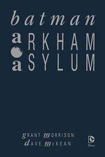 BATMAN: ARKHAM ASYLUM (deutsch) HC lim.Luxus-Hardcover+Artprint  MC KEAN signed