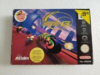 Extreme G - Nintendo 64 N64 Game - [UKV EUR PAL CIB] Boxed with manual