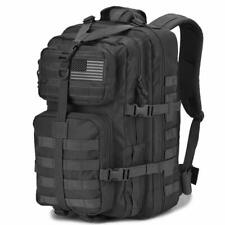 DIGBUG Military Tactical Backpack Army 3 Day Assault Pack Bag (Black 40l)