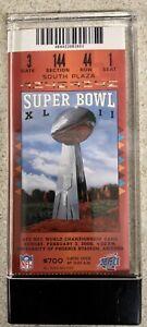 Super Bowl XLII MINT CONDITION Tickets