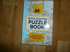 The AA British Road Map Puzzle Book: