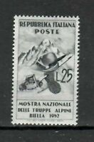 S21596) Italy 1952 MNH New Alpine 1v