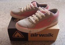 AIRWALK Pink / Grey Suede Skate Shoes, Size 8, Pre-Loved