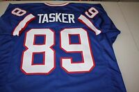 STEVE TASKER #89 SEWN STITCHED HOME THROWBACK JERSEY SIZE XLG 4X AFC CHAMPS