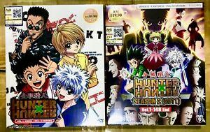 Hunter X Hunter Complete Full Set (Season 1 & 2 + 2 MV) ~ All Region ~ Brand New