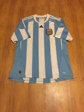Argentina National Soccer Team FIFA Adult Large Blue Adidas Futbol Jersey