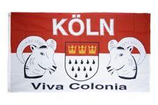Fahne Fanflagge Köln Viva Colonia Flagge Fußball Hissflagge 90x150cm