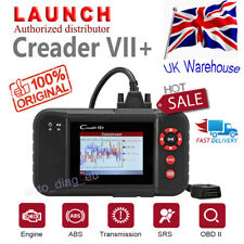 UK Launch X431 Creader VII+ 7+ Auto Car OBD2 Diagnostic Tool Scanner Code Reader
