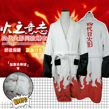 Naruto Namikaze Minato Coral Velvet Bathrobe Warm Nightgown Sleepwear Robe Gift
