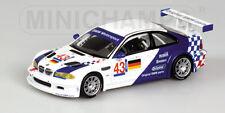 1/43 BMW M3 GTR BMW Motorsport  ELMS  Jarama 2001  Ekblom / Muller