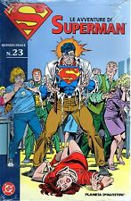 Fumetto,Comic Strip.Le avventura di Superman,23,Planeta DeAgostini