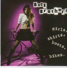(EB428) Buck Brothers, Girls, Skirts, Boots, Bikes - 2007 DJ CD