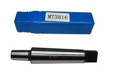 RDGTOOLS 3MT drill chuck arbor B16 Pour Tour Ou Perceuse