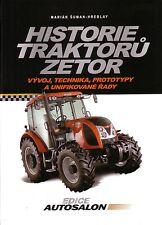 Book - Czech Zetor Tractors 1945 2010 - Historie Traktoru - Super Major Crystal