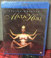 Mata Hari Blu Ray Nuovo Sigillato Sylvia Kristel un Corpo da Spiare N