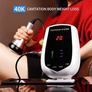 Ultrasonic Cavitation Body Slimming Machine Anti-Cellulite Fat Removal Massager