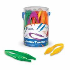 """*Incomplete* Learning Resources Jumbo Tweezers, 6""""H, Pre-K, Pack of 12"""